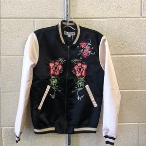 Newwith tags young bohemian embroidered bomber jet